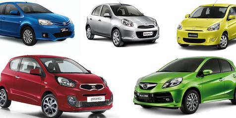 Beberapa City Car yang Bisa di Sewa di Merta Sedana Rental